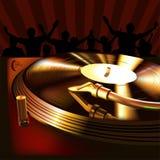 Panneau de mélange du DJ Photo stock