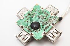 Panneau de microcontrôleur Photo libre de droits