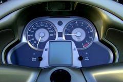 Panneau de Moto Photo libre de droits