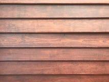 Panneau de mur en bois Images libres de droits
