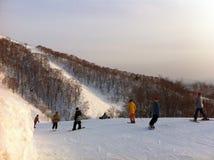 Panneau de neige Images libres de droits