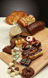 Panneau de pâtisserie Photographie stock