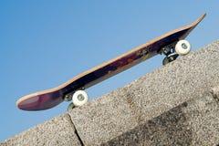 Panneau de patin Photographie stock