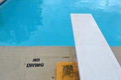 Panneau de plongée Image libre de droits