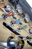 Panneau de pompe de Firetruck Image stock
