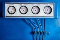 Panneau de presse hydraulique images stock