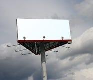 Panneau de publicité. image stock