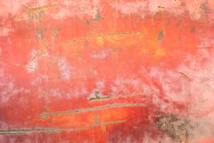 Panneau de rouillement en métal Images stock