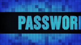 Panneau de signe de panneau d'affichage de mur de Front Text Scrolling LED de sécurité de mot de passe banque de vidéos
