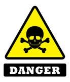 Panneau de signe de danger illustration libre de droits