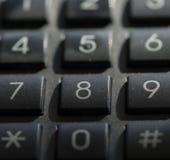 Panneau de téléphone Image stock