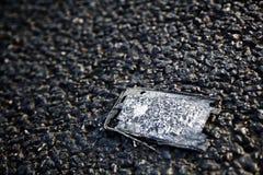 Panneau de téléphone portable de diminution des effectifs Images libres de droits