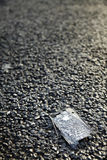 Panneau de téléphone portable de diminution des effectifs Image libre de droits