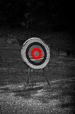 Panneau de tir à l'arc Photographie stock