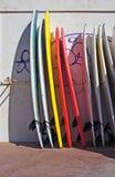 Panneau de vague déferlante profilé Photographie stock