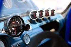 Panneau de voiture de course Image libre de droits
