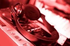 Panneau du DJ Images libres de droits