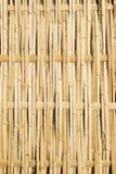 Panneau en bambou tissé de frontière de sécurité Photo libre de droits