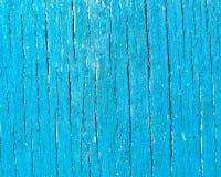 Panneau en bois bleu de fond abstrait Photographie stock libre de droits