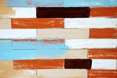 Panneau en bois de peinture Images libres de droits