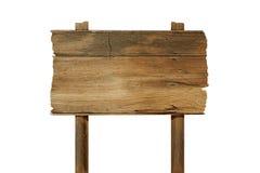 Panneau en bois de signe Photos stock