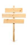 Panneau en bois de signe Images stock