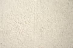 Panneau en bois de vieille peinture blanche Photos stock