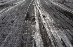 Panneau en bois de vintage image libre de droits