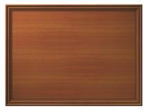 Panneau en bois encadré Photographie stock libre de droits