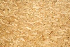 Panneau en bois fait de copeaux en bois pressés Images stock
