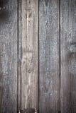 Panneau en bois gris Images libres de droits
