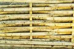 Panneau en bois inextricable pavé en cailloutis texturisé images libres de droits