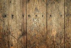Panneau en bois (JPG+EPS) Image stock