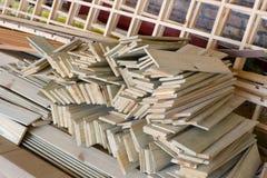 Panneau en bois (JPG+EPS) Photographie stock libre de droits