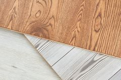 Panneau en bois lisse photo libre de droits