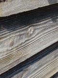 Panneau en bois (vers le haut de la fin jetée 1) Image libre de droits