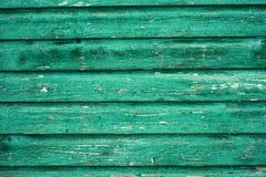 Panneau en bois vert de vintage Photos stock