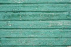 Panneau en bois vert de vintage Photo stock