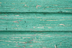 Panneau en bois vert de vintage Photo libre de droits