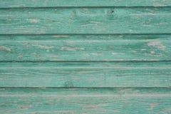 Panneau en bois vert de vintage Photographie stock