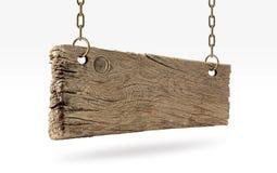 Panneau en bois, vieux bois Images libres de droits
