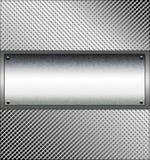 Panneau en métal Images libres de droits