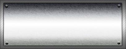 Panneau en métal Images stock