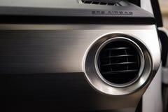 Panneau et climatisation d'airbag de voiture Image libre de droits
