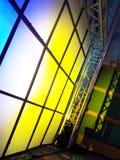 Panneau fluorescent Photographie stock libre de droits