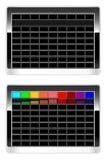 Panneau fonctionnant de clavier Illustration Stock