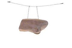 Panneau indicateur en bois Photos stock