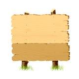 panneau indicateur en bois illustration stock