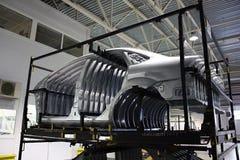 Panneau latéral de fuselage Images libres de droits