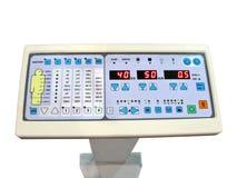 Panneau neuf de commande numérique, essai de patient d'anatomie Image libre de droits